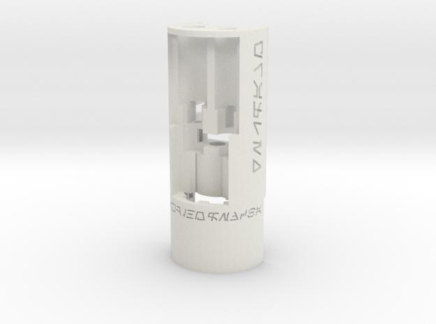 89Sabers Graflex Chassis P1 in White Natural Versatile Plastic