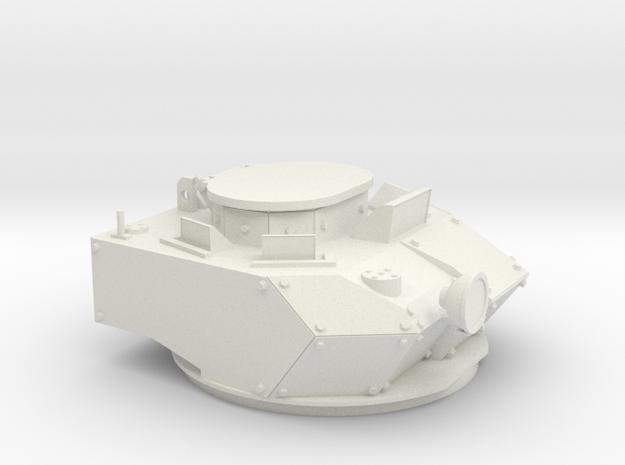1/16 M113AS4 TURRET in White Natural Versatile Plastic