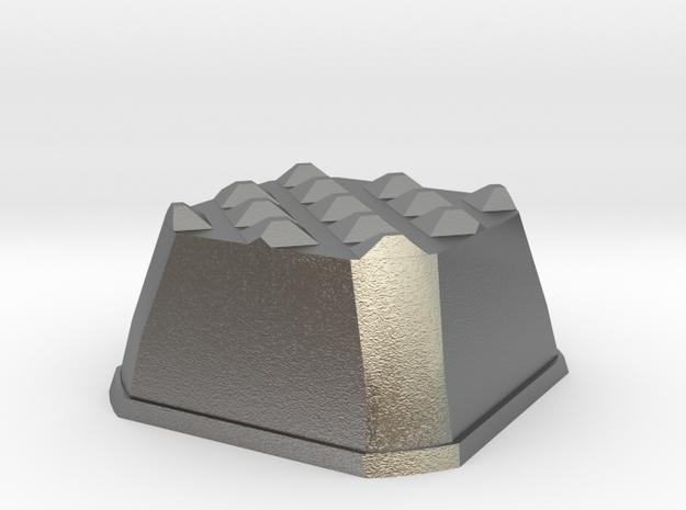 Truffle Shuffle 4d in Natural Silver