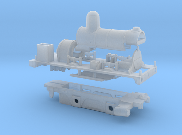 Lbscr Well Tank HO (Works Version) in Smooth Fine Detail Plastic
