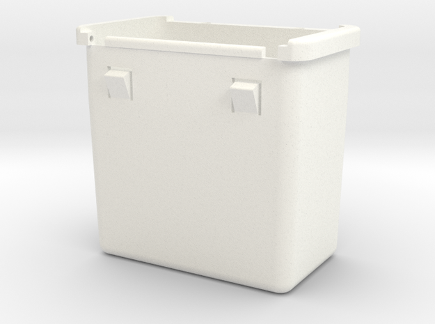 Lancia Delta Compartment Sunroof BOX in White Processed Versatile Plastic