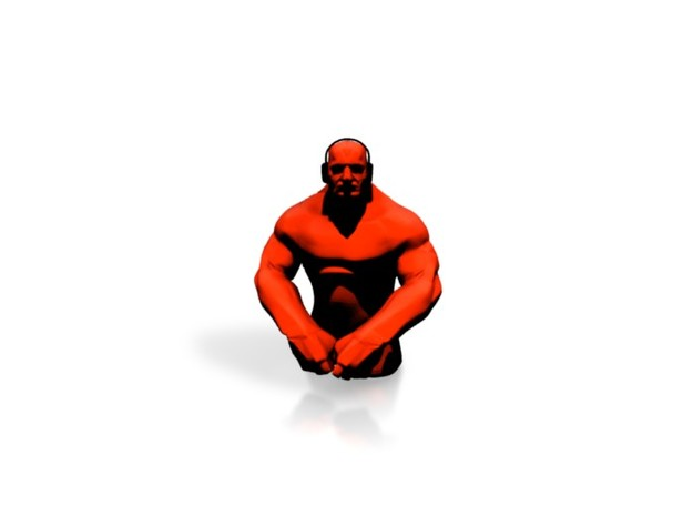 Grappler - Red 3d printed