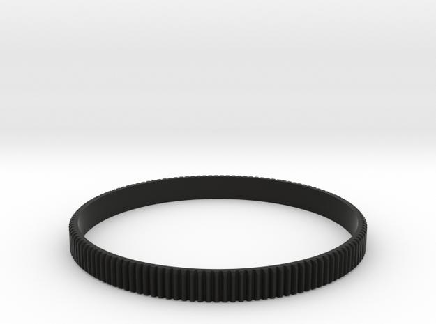 Lens gear 0.8 pitch - 100.0mm in Black Natural Versatile Plastic