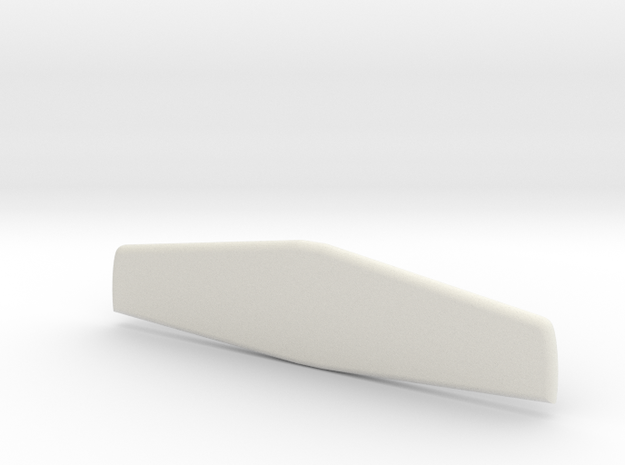 Lancair Legacy Horizontal Stabilizer in White Natural Versatile Plastic