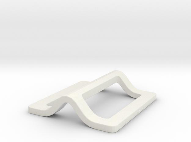 Jyn Erso Eadu version - buckle 1 in White Natural Versatile Plastic