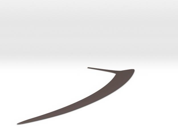 Wookie Ryyk Blade in Polished Bronzed-Silver Steel