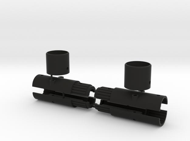 XR10 super extensions in Black Natural Versatile Plastic