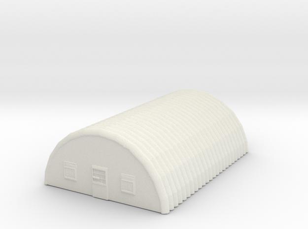 Tin Overhead Unit  in White Natural Versatile Plastic