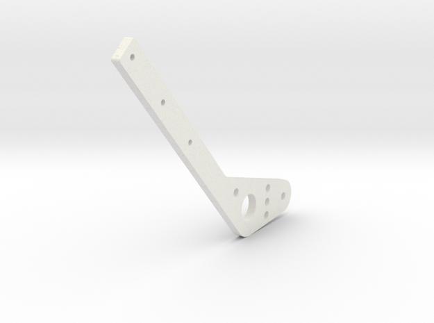 Handbrake Hexacore in White Natural Versatile Plastic