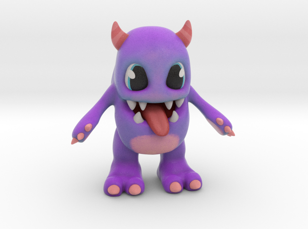 Baby Monster Colored_small in Matte Full Color Sandstone
