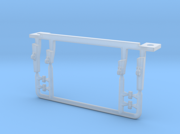 Atlas O Scale F7 Coupler Lift Bar Mount  in Smoothest Fine Detail Plastic