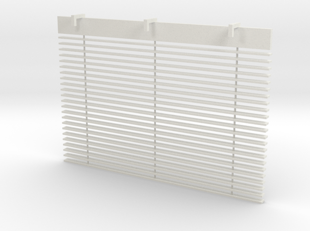 Blinds in White Natural Versatile Plastic