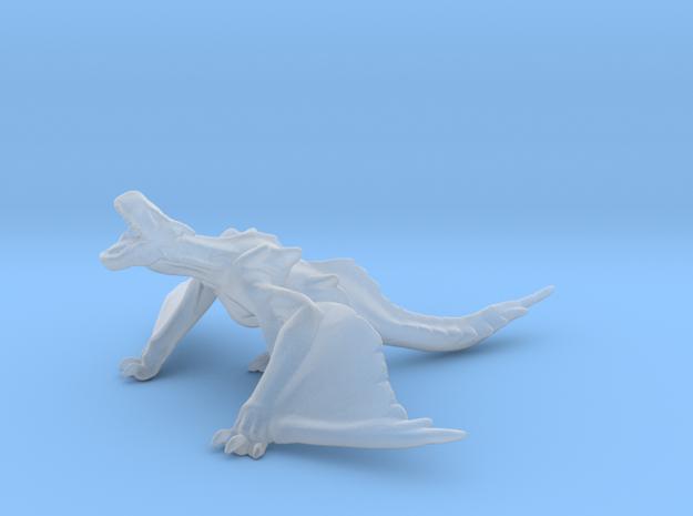 Monster Hunter Tigrex Dragon Miniature games rpg in Smooth Fine Detail Plastic