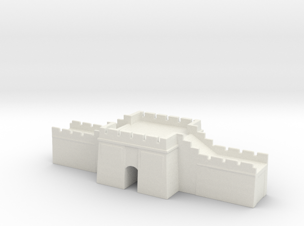 the great wall of china 1/600 gate pass   in White Natural Versatile Plastic