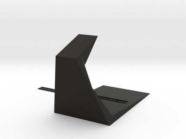 headset stand mrk-1 in Black Natural Versatile Plastic: Small