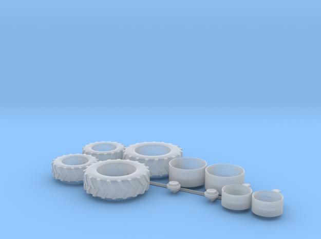 H0 1:87 Reifen für Fendt 209 in Smooth Fine Detail Plastic