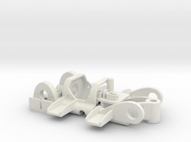 PDU030PK08250 in White Natural Versatile Plastic