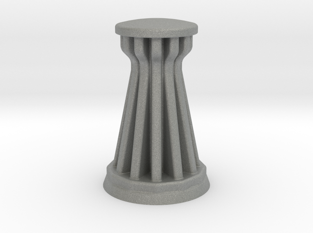 2mm / 3mm Scale Power Tower in Gray PA12