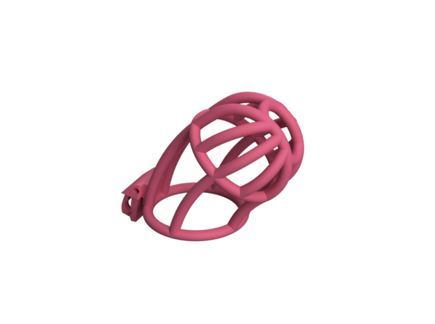 Cherry Keeper Custom - CKC-FMAA1S-19 - cage only in Pink Processed Versatile Plastic