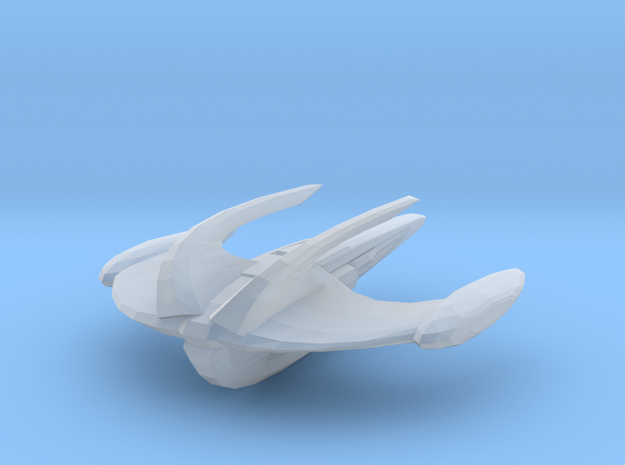 Deep Stand-off Attack Ship in Smooth Fine Detail Plastic