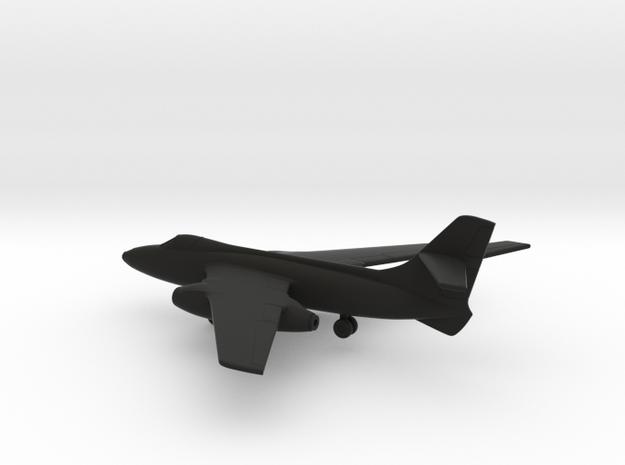 SNCASO Sud-Ouest SO.4050 Vautour IIB in Black Natural Versatile Plastic: 1:200