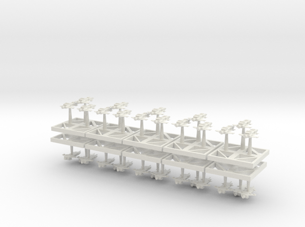Assault Bombers Starhawks - Concept B  in White Natural Versatile Plastic