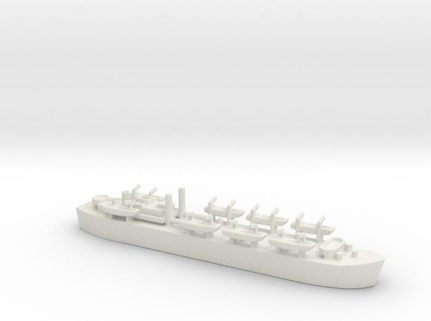 landing ship tank MK3 LST MK3 1/1200 HMS MESSINA  in White Natural Versatile Plastic