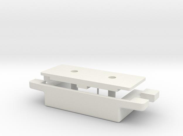 Porsche glove compartment magnet case 90155257120 in White Natural Versatile Plastic