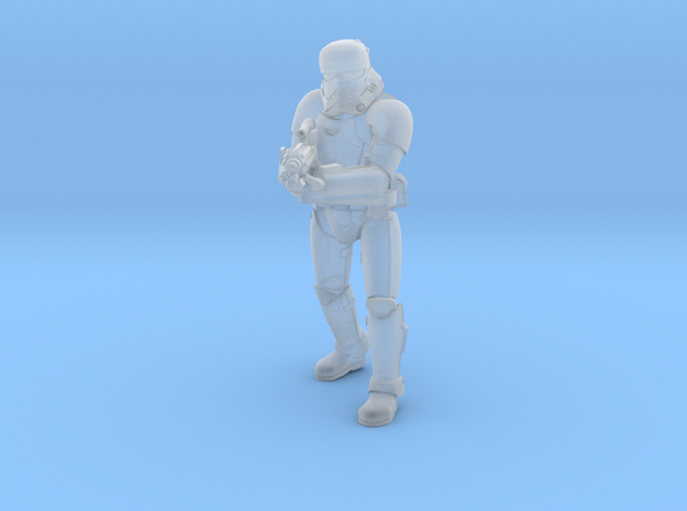 First Trooper A1 in Smoothest Fine Detail Plastic
