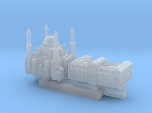 Hofburg & Hagia Sofia in Smooth Fine Detail Plastic