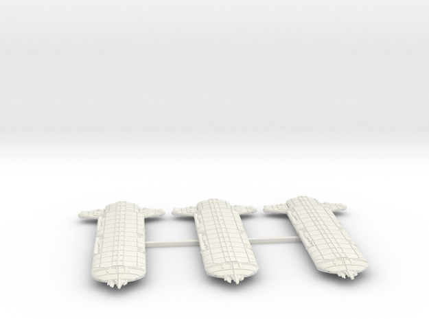 Terran (TFN) Wolfhound Refit-B Datagroup (sprued) in White Natural Versatile Plastic