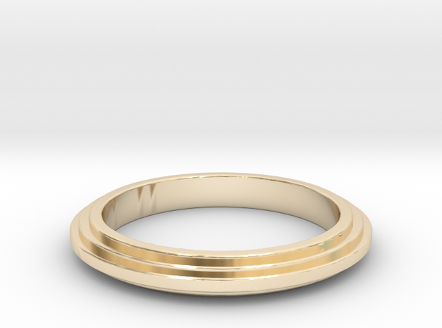 Ring Sticked in 14K Yellow Gold