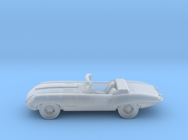 Jaguar Type E 1:160 N in Smooth Fine Detail Plastic