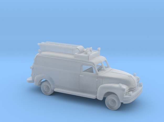1/87 1947-54 Chevrolet Long FireRescue Kit in Smooth Fine Detail Plastic