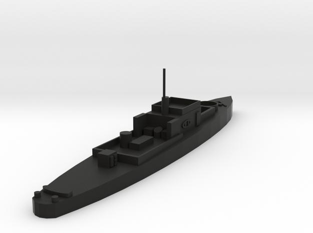 USS PGM 9 in Black Natural Versatile Plastic: 1:300