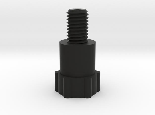 Lomo Spindle Bottom in Black Natural Versatile Plastic