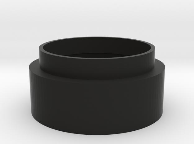 C-mount Extension Tube 10mm in Black Natural Versatile Plastic