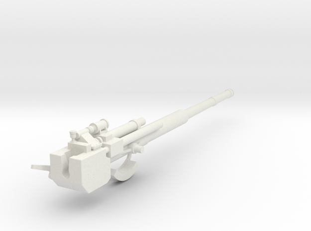 Part 2 Gun Barrel 105 SK C32 in White Natural Versatile Plastic