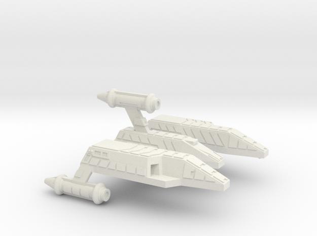 3788 Scale Lyran Refitted Yaguarundi Light Carrier in White Natural Versatile Plastic