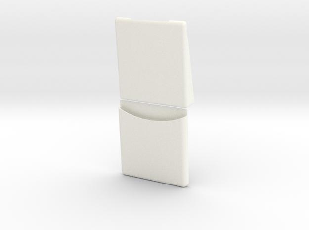 1.5 EC120 SEAT (C) in White Processed Versatile Plastic