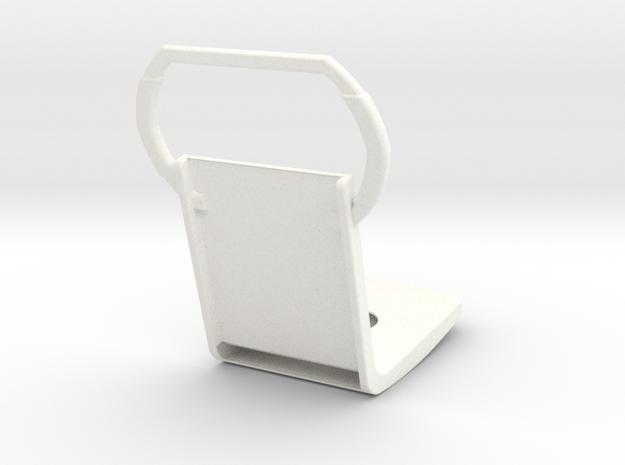1.5 EC120 SEAT (B) in White Processed Versatile Plastic