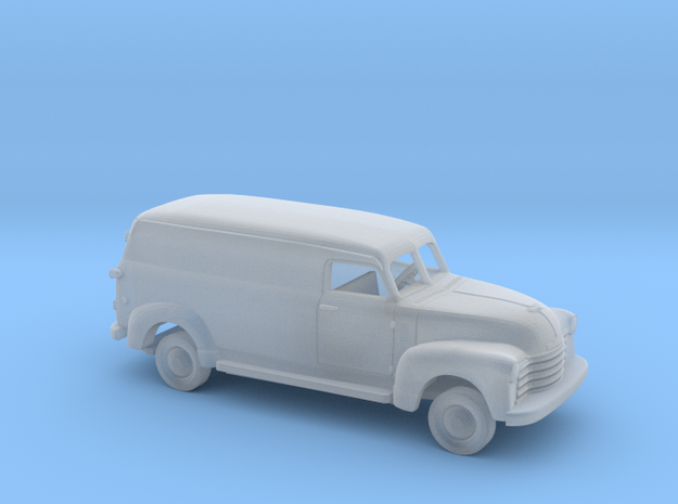 1/87 1947-54 Chevrolet LongPanel Van Kit in Smooth Fine Detail Plastic