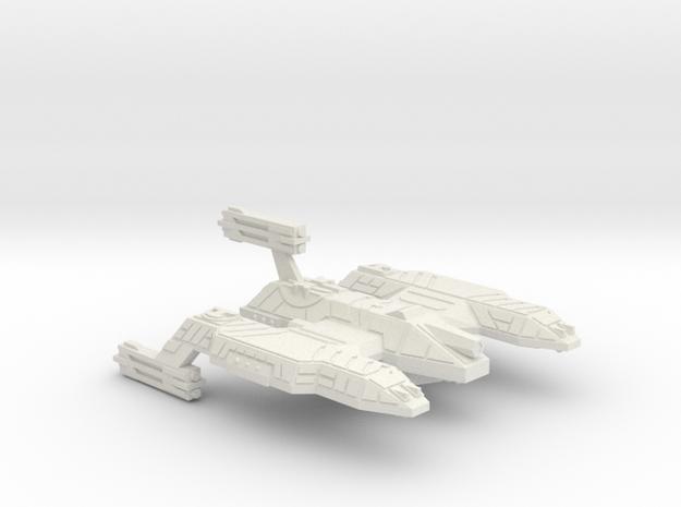3788 Scale Lyran Refitted Dreadnought Mauler CVN in White Natural Versatile Plastic