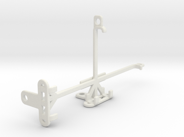 Huawei P30 tripod & stabilizer mount in White Natural Versatile Plastic