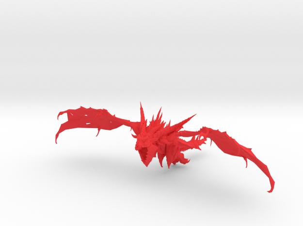 Pendragon the Dragon in Red Processed Versatile Plastic