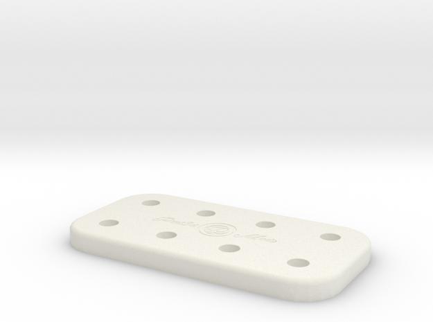 ATTY CADDY [8SPOT] in White Natural Versatile Plastic