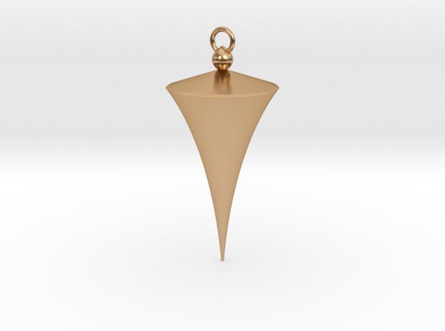 Pendulum (downloadable)  in Polished Bronze