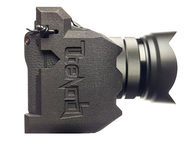 CAMERA GRIP for Sony A6400 in Black Natural Versatile Plastic