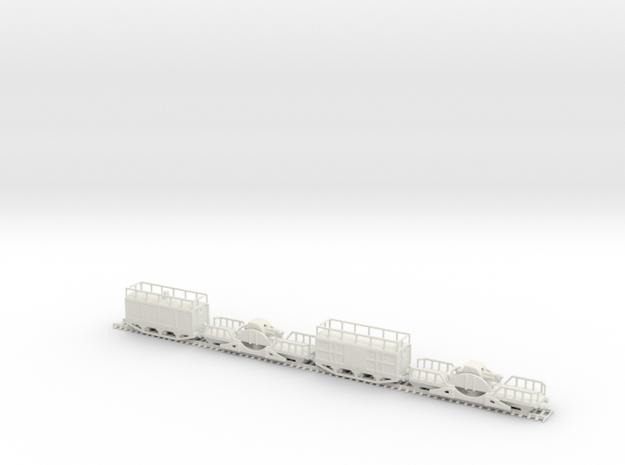 200mm obusier perou train 1/160 in White Natural Versatile Plastic