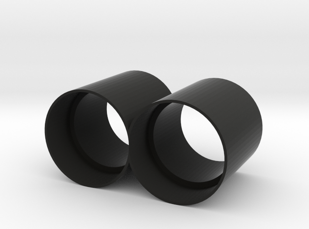 Cinetape Extension Horns in Black Natural Versatile Plastic